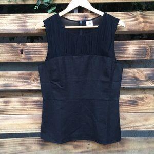Cabi Black bustier sleeveless top